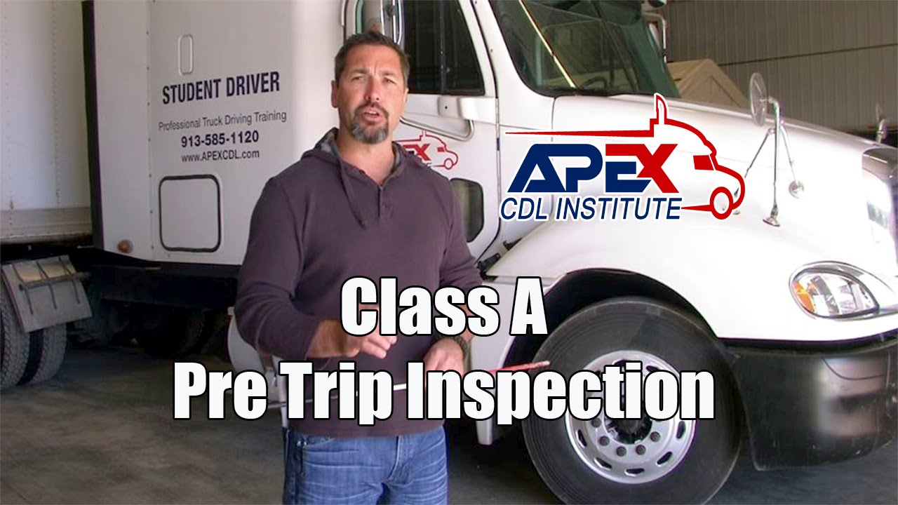 Pre-trip Inspection Tractor Trailer